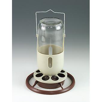 Quiko 'min lampa' glas alkoholiserade med täcker 1ltr