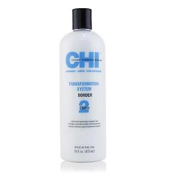 Fase de sistema de transformación Chi 2 - Bonder fórmula B (para cabello coloreado o químicamente tratado) - 473ml / 16oz