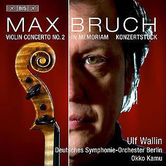 Bruch / Wallin / Kamu / German Symphony Orchestra - Works for Violin & Orchestra [SACD] USA import