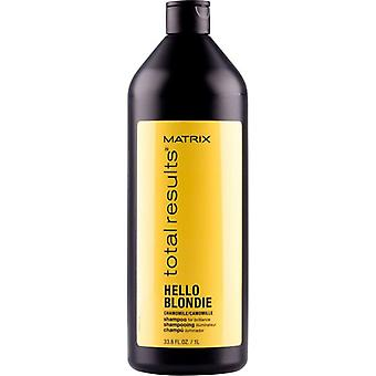 Matrix Total Result Hello Blondie Shampoo 1000ml