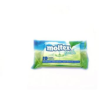 Moltex Fresh wipes 20 Und (Childhood , Cosmetics , Diaper and changers , Baby wipes)