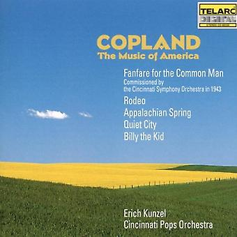 Kunzel/Cincinnati Pops - Copland: The Music of America [CD] USA import