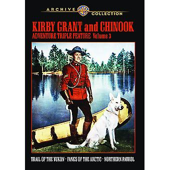 Kirby Grant & Chinook avontuur Triple Feature: V3 [DVD] USA import