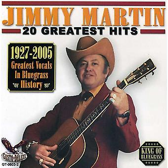 Jimmy Martin - 20 Greatest Hits [CD] USA import