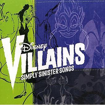 Disney - Disney Villains: Simply Sinister Songs [CD] USA import