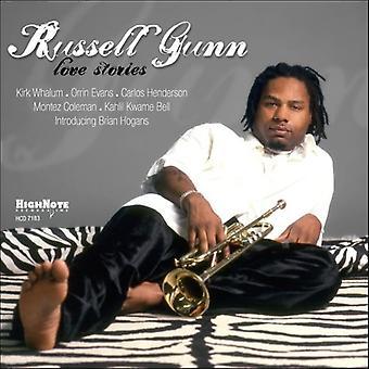 Russell Gunn - kærlighedshistorier [CD] USA import