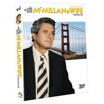 McMillan & Wife: Season Six [DVD] USA import