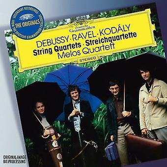 Debussy/Ravel - Debussy, Ravel, Kod Ly: String Quartets [CD] USA import