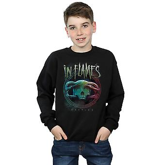 In Flames Boys Battles Circle Sweatshirt