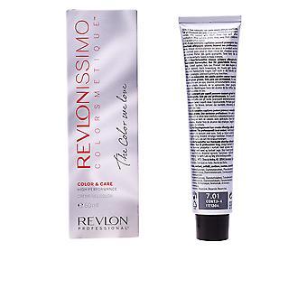 Revlon Revlonissimo High Performance #7,01-natural Ash Blonde 60 Ml Unisex