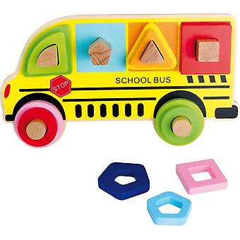 Legler School Bus Puzzle (Toys , Preschool , Puzzles And Blocs)