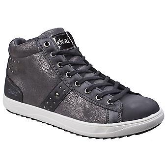 Divaz Steffy damer metallisk Sneaker Boot