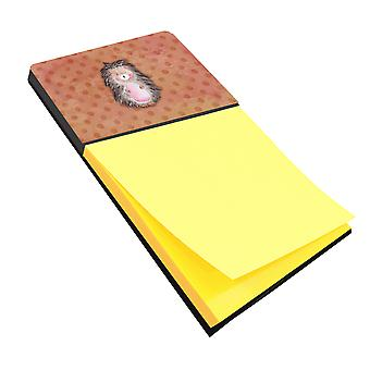 Carolines Treasures  BB7378SN Polkadot Hedgehog Watercolor Sticky Note Holder