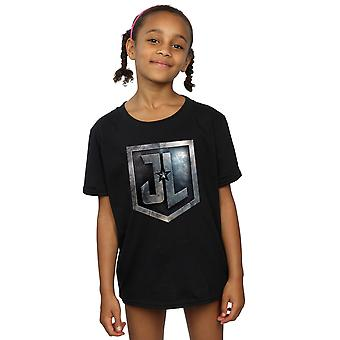 DC Comics Justice League film per ragazze Shield t-shirt