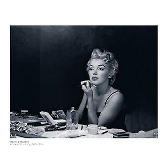 Marilyn Monroe Backstage Poster Print by Sam Shaw (19 x 15)