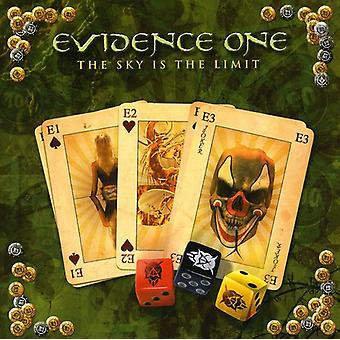 Evidence One - Sky Is the Limit [CD] USA import