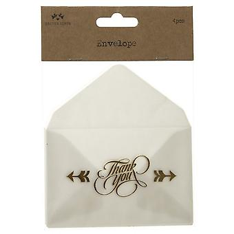 Heaven Sends Thank You Mini Envelopes (Set Of 4)