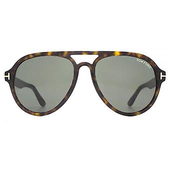 Tom Ford Rory 02 Sunglasses In Dark Havana