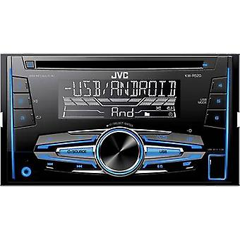 Double DIN car stereo JVC KW-R520E Steering wheel RC button connector