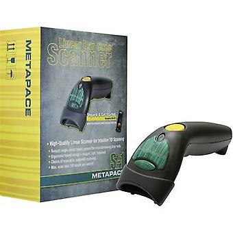 Metapace S-1 USB-Kit Barcode scanner Corded 1D Ima
