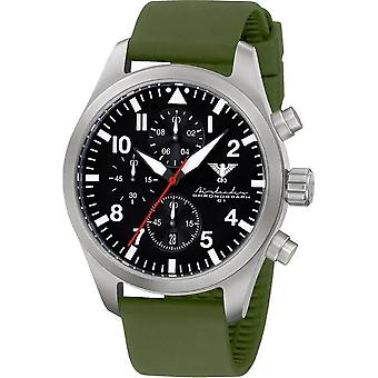 KHS mens watch Airleader Steel Chronograph KHS. AIRSC. SO