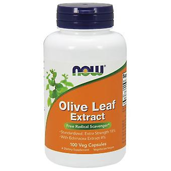Now Foods Olive Leaf Extract With Echinacea Extract 4% 100 Veggie Capsules