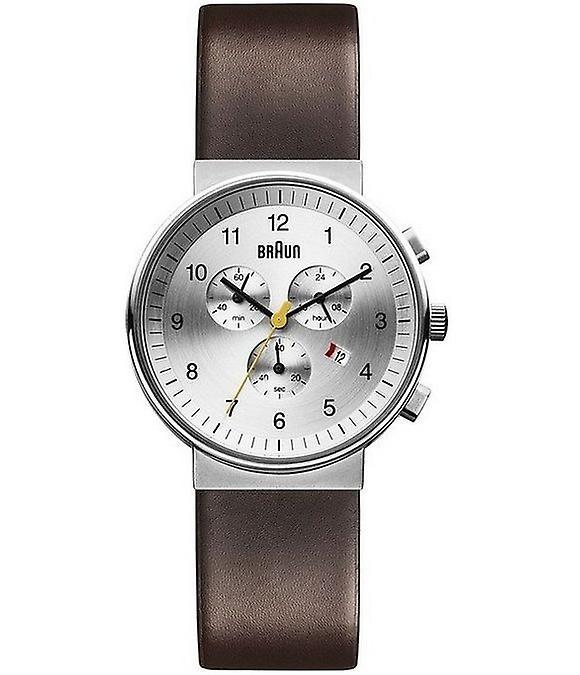 Braun Uhren Herrenuhr Classic BN0035SLBRG-66554