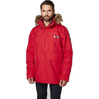 Helly Hansen Mens Coastal 2 Waterproof Faux Fur Trim Parka Coat Jacket