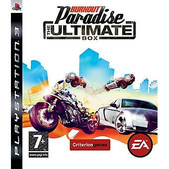 Burnout Paradise - rutan Ultimate (PS3)