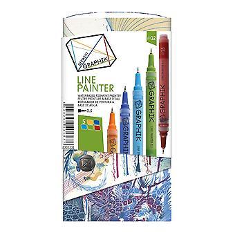 Derwent Graphik línea pintor Pen Set #2