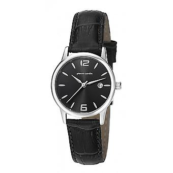 Pierre Cardin ladies watch wristwatch JUSSIEU leather PC106732F06