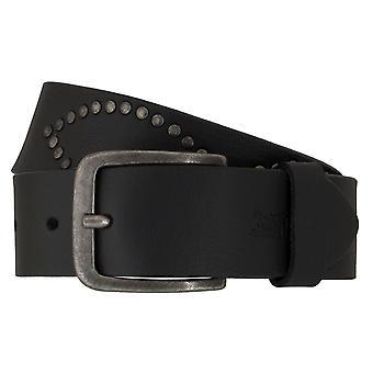 Los pantalones vaqueros de Levi BB´s cinturones hombre cinturones cuero correa negro 6669