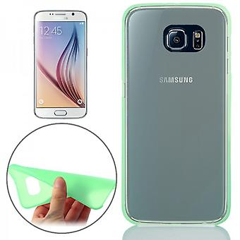 Hardcase Green 0.3 mm ultra tynn tilfelle for Samsung Galaxy S6 G920 G920F