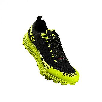 Supertrac Ultra RC Mens CUSHIONED OFF-ROAD Running Shoes Black/Yellow
