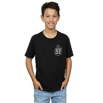 Star Wars pojkar flyga aldrig Solo T-Shirt