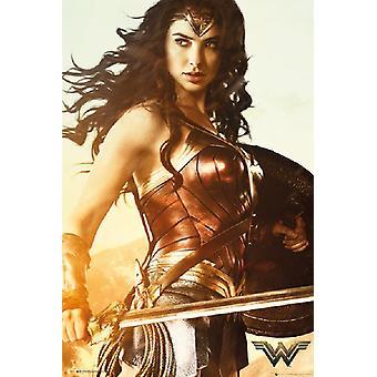 Wonder Woman - miecz Poster Print