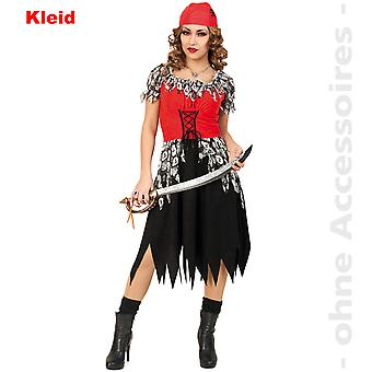 Horror pirate Lady costume skull dress Seeräuberin Womens Halloween costume