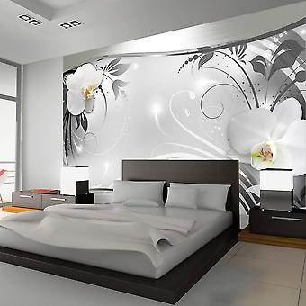 Papel de parede - abstrato prata