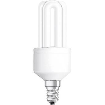 OSRAM ampoule EEC: une (A ++ - E) E14 124 mm 230 V 11 W = 51 W blanc chaud Tube forme 1 PC (s)