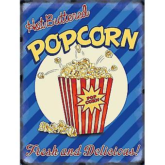 Varm smør Popcorn kjøleskap Magnet