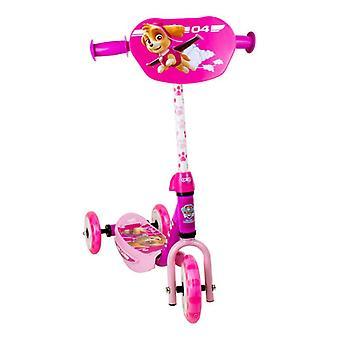 Paw patrulje Skye tre-hjulet Scooter med indstilleligt styr - Pink