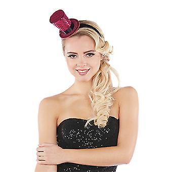 Cylinder miniature hair hoop accessories Hat Halloween Carnival