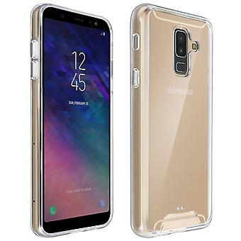Cristal Series case, hybrid frekvenstabellerna för Samsung Galaxy A6 Plus - Ultra clear
