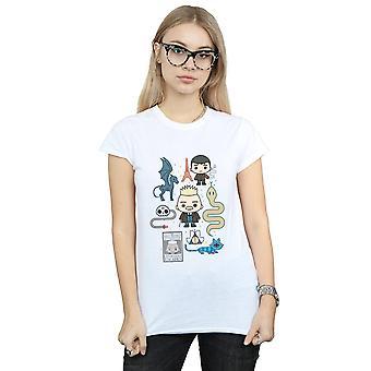 Fantastic Beasts 2 Women's Chibi Grindelwald T-Shirt