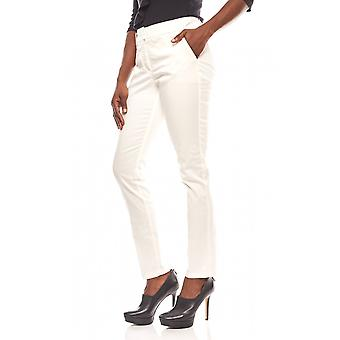 B.c. best connections airy ladies cigarette pants with white crease