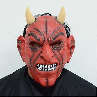 Duivel Rode hoorn hoofd masker maskerade partij partij halloween