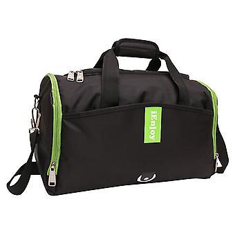 黒のショルダー バッグや耐久性のある生地のスポーツ バッグ
