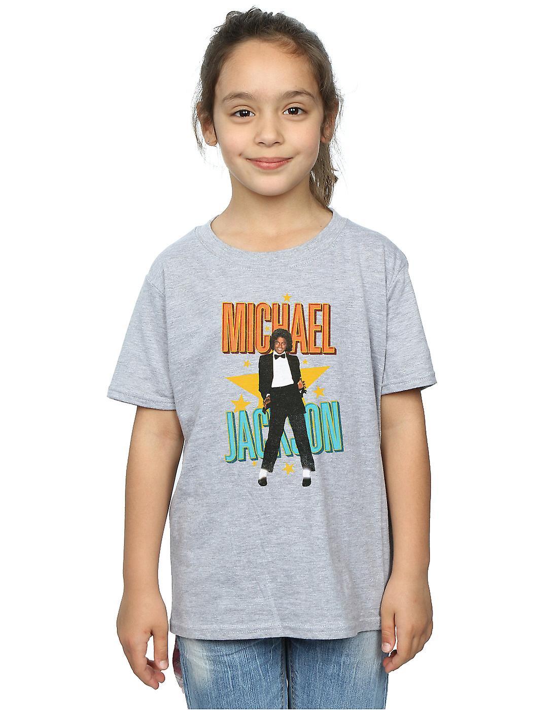 Michael Jackson meisjes Retro Star T-Shirt