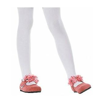 Childs Tights White Age 7-10.
