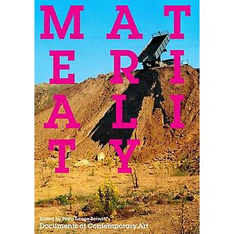 Materiality by Petra Lange-Berndt - 9780854882373 Book